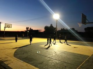 Indulkana Basketball Court